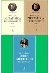 Kit - Comentários de Sto. Tomás (3 Livros)
